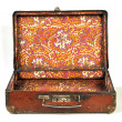 Open Old Suitcase — Stock Photo