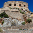 The island-fortress of Spinalonga. - Stock Photo