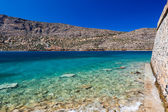 The island-fortress of Spinalonga — ストック写真