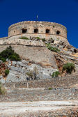 The island-fortress of Spinalonga. — 图库照片