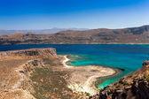Vista da ilha de gramvousa — Fotografia Stock