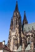Temple of St. Vitus in Prague — Stock Photo