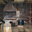 Interior of the forge — Stock Photo