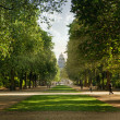 Stock Photo: Royal park in Brussels
