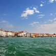 Stock Photo: View of Veince from sea
