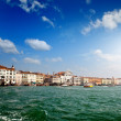 View of Veince from sea — Stock Photo
