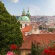 View of Prague in summer — Stock Photo