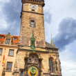 Tower with Astronomical Clock in Prague — Photo