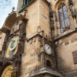 Tower with Astronomical Clock in Prague — Stock Photo