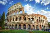 Colosseum in rome, Italië — Stockfoto