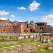 Ruins of Roman Forum in Rome — Stock Photo #22512555
