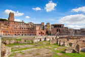 Ruins of Roman Forum in Rome — Stock Photo