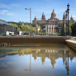 National Museum in Barcelona, Spain - Stok fotoraf