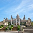 National Museum in Barcelona, Spain — Stock Photo