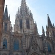 Gothic Barcelona Cathedral (Santa Eulalia or Santa Creu) - Stock Photo