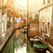 Stock Photo: Canal in Venice, Italy
