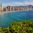 View of Benidorm, Costa Blanca, Spain — Stock Photo
