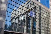 European Parliament - Brussels, Belgium — Stock Photo