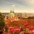 View of Prague in summer — Foto de Stock