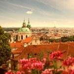 Visa Prag i sommar — Stockfoto