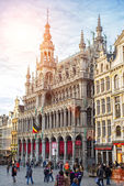 Brussels, Belgium, - Grand Place, February 17, 2014: Photo of Gr — Стоковое фото