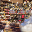 Stock Photo: Brussels, Belgium - February 17, 2014:. Interior of chocolate sh