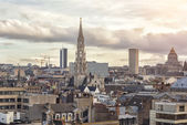 Cityscape of Brussels, Belgium — Stock Photo