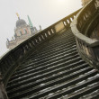 Stairway of The Sanssouci Palace in winter. Potsdam, Germany — Stock Photo #42046675