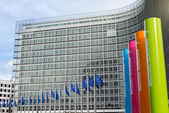 Brussels, Belgium - February 24, 2014: Photo of European Union — Stock Photo