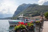 Promenade in Menaggio on Como lake — Stock Photo