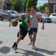 Stock fotografie: Day of youth of 2013, Tyumen. Basketball competitions in Tsvetno