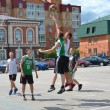 Stock Photo: Day of youth of 2013, Tyumen. Basketball competitions in Tsvetno