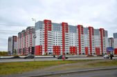 """Malakhovo's"" new residential district in Tyumen. — Foto Stock"