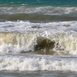 Big waves on sea. — Stock Photo #41215597