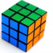 Photo: Color sides of cube-rubika.