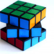 ストック写真: Color sides of cube-rubika.