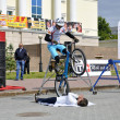 ������, ������: Mikhail Sukhanov performance champions of Russia on a cycle tri