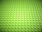 Green bulging circles texture or background — Stock Photo