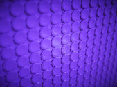 Purple bulging circles texture or background — Stock Photo