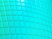 Turquoise fluted pattern Useful as background — Stock Photo
