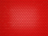 Red Leather stitched background with scales texture — Stock Photo