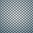 Stock Photo: Black pattern with gray leather bumps