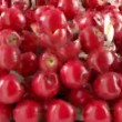 Red Apples falling down with slow motion — Stock Video #37376421