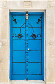 Blue door — Foto de Stock