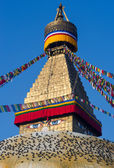 Buddhist Boudhanath stupa — Photo