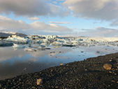 Jokulsarlon, glacier lake — Stock Photo