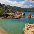 Paradise beach on Sardinia — Stock Photo