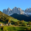 St. Magdalena in the Dolomites - Stock Photo