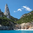 Sardinia Cala Goloritze beach — Stock Photo