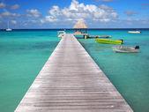 Iskelede sandal — Stok fotoğraf